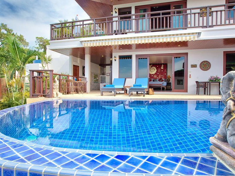 sandalwood grand pool villa thailand