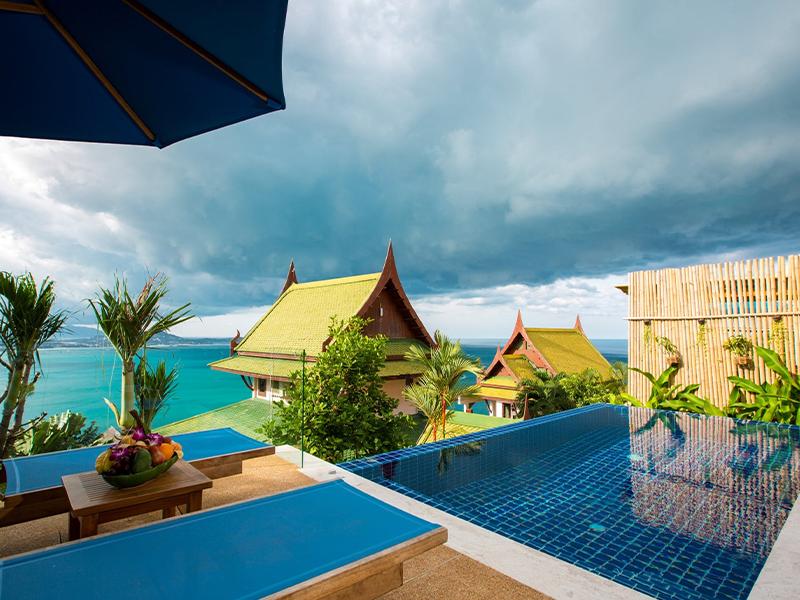 sandalwood ocean view pool villa