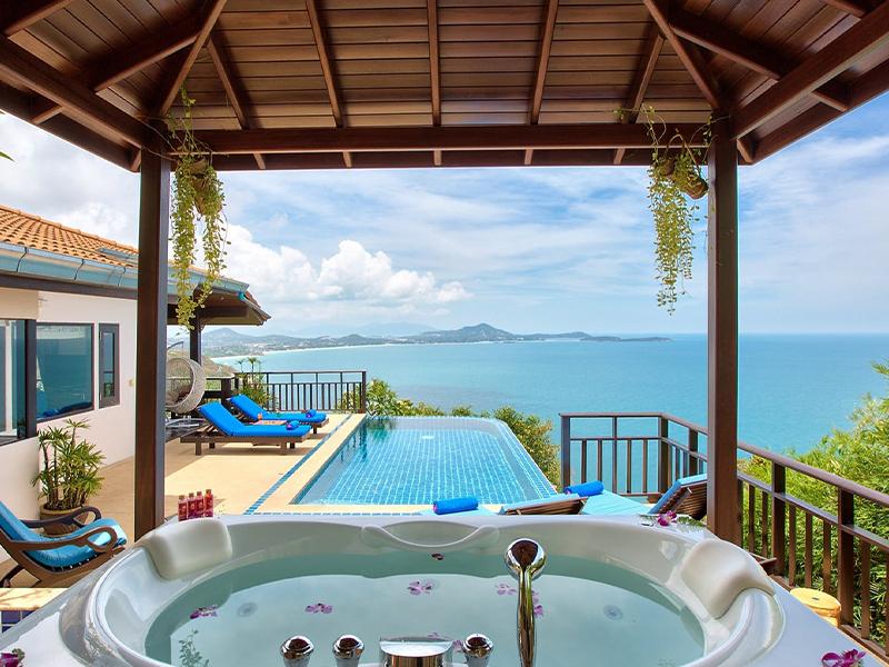 sandalwood grand pool villa oh samui thailand